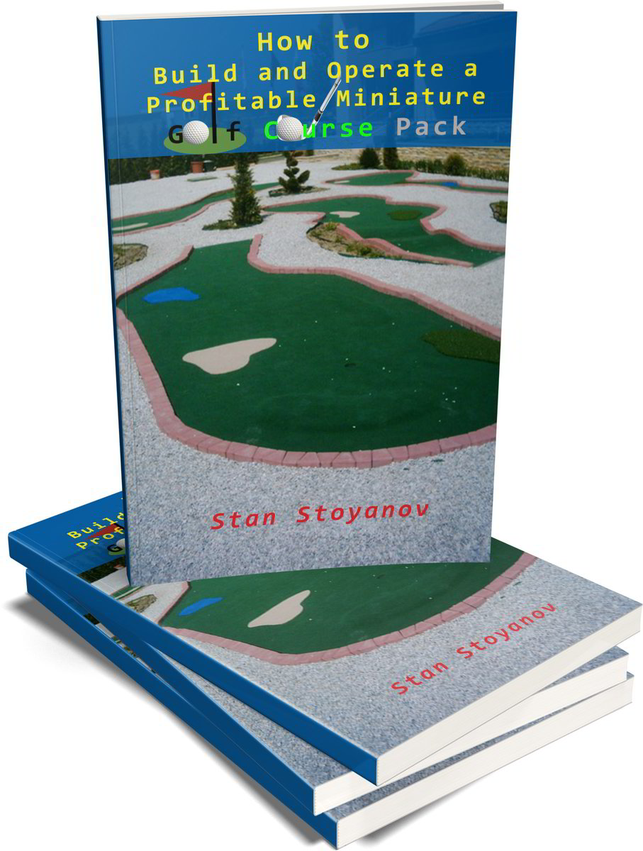 adventure miniature golf course plans and layouts