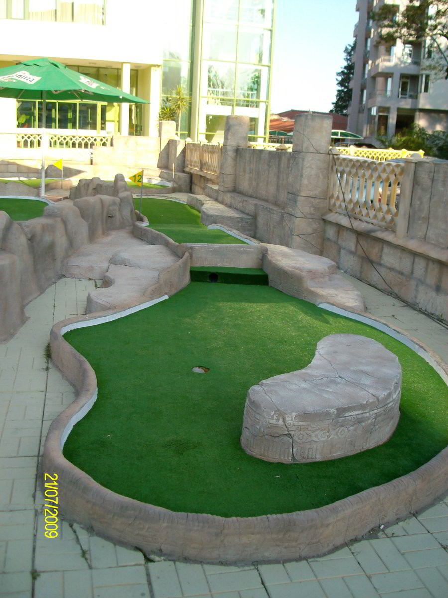 adventure miniature golf plans, including AutoCAD files