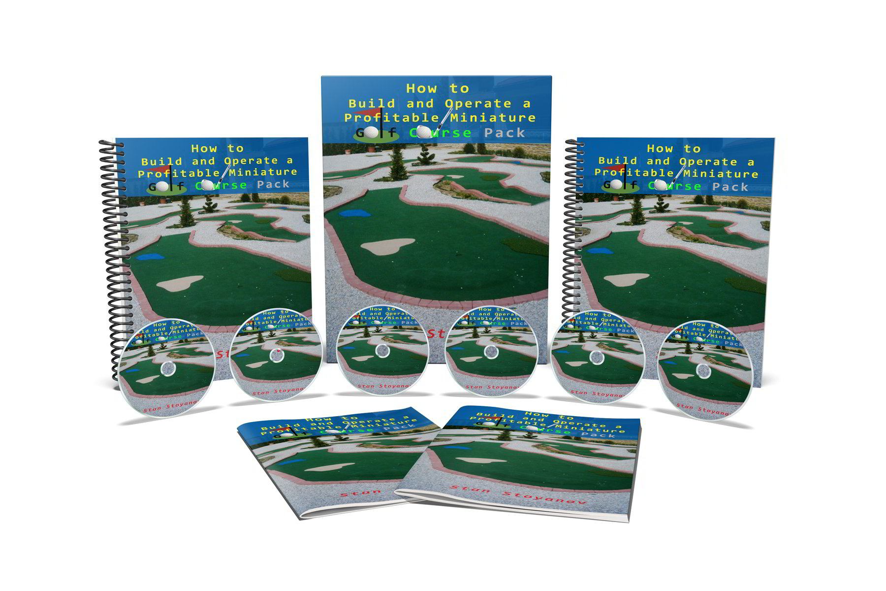 Adventure Golf Business Pack