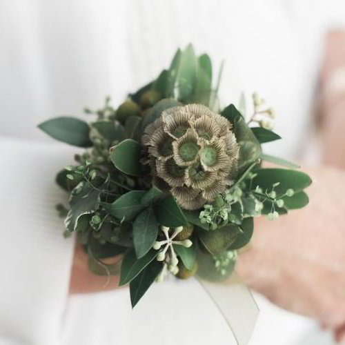 Green Delight Corsage
