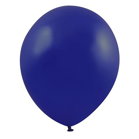 Navy Blue Latex Balloons, 12""