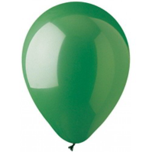 Green Latex Balloons, 12""