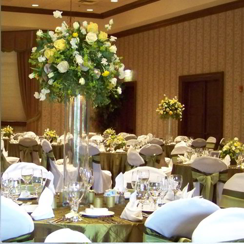 Sky High Greenery Center Piece