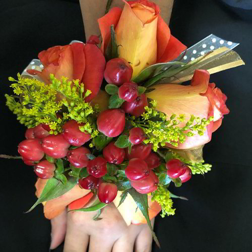 Shaded Filled Corsage