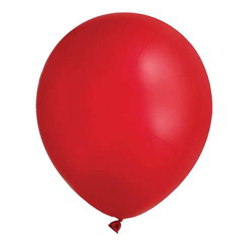 Red Latex Balloons, 12""