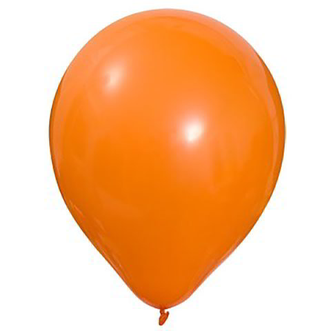 Orange Latex Balloons, 12""
