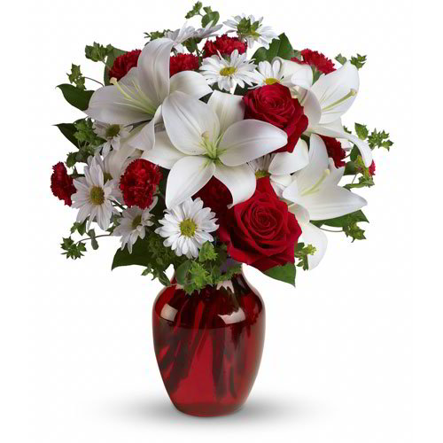 Elegantly White and Red