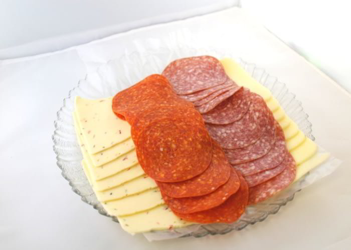 Italian Deli and Cheese Combo