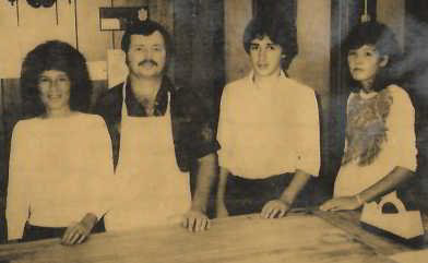 Carol, Ron, and Shawn Regula; and Pam Sergent.