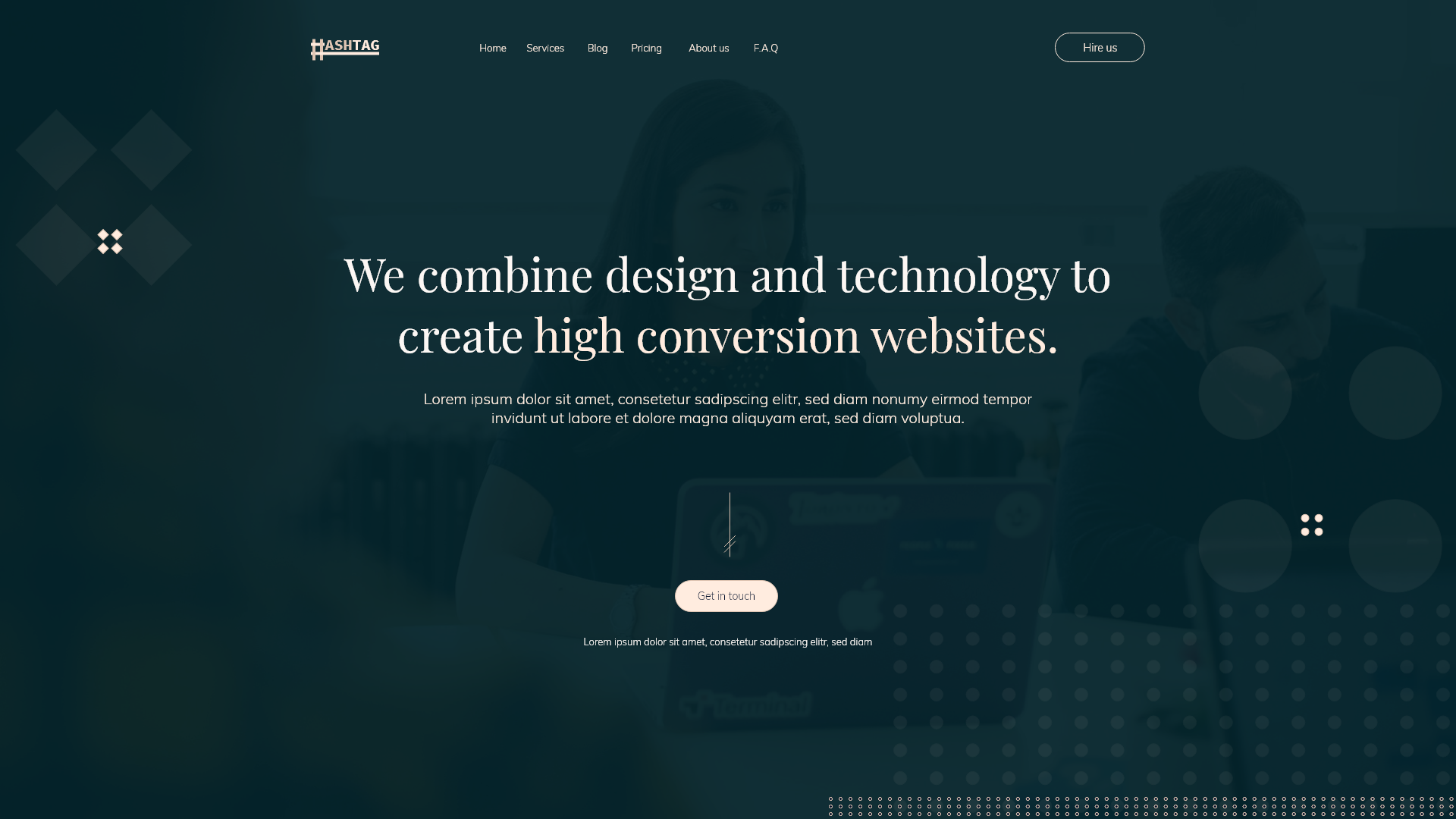 download free adobe xd landing pages templates