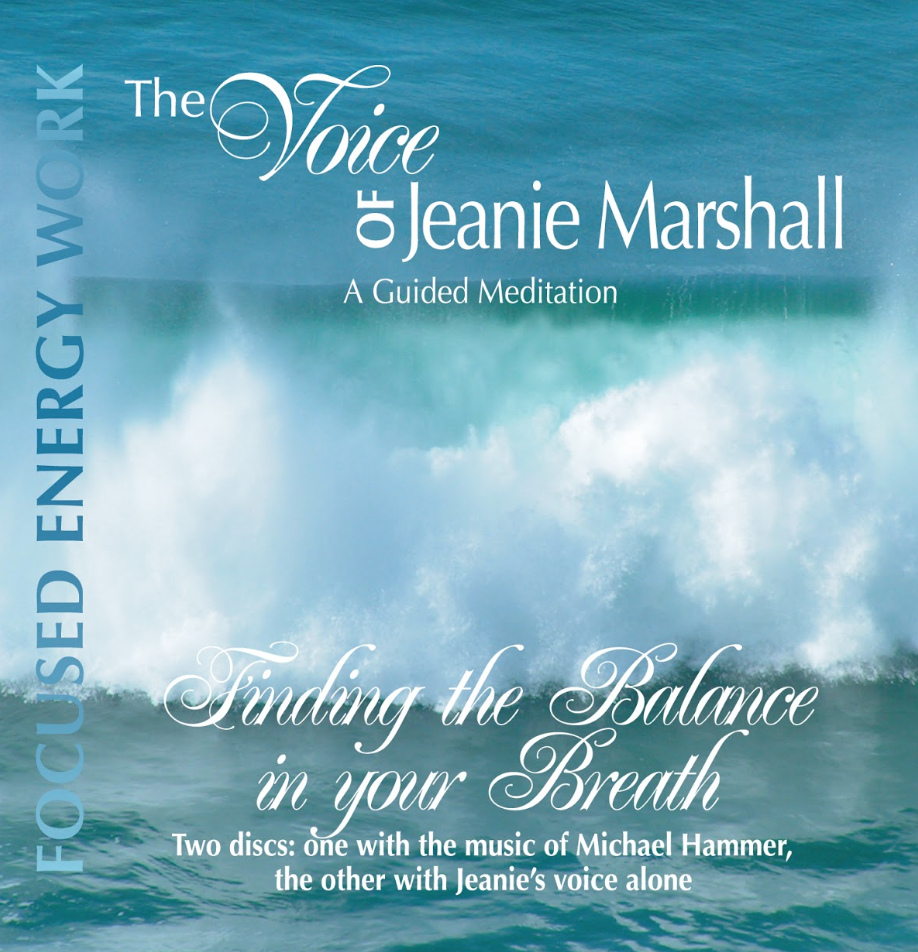 Finding the Balance in your Breath - Jeanie's Voice With Music