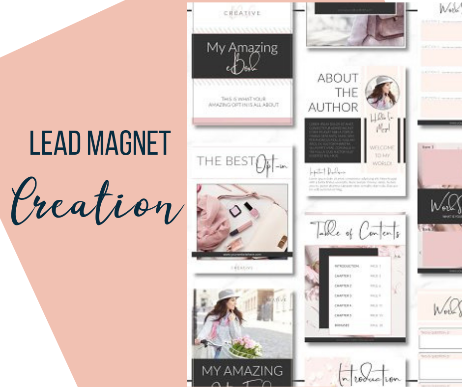 Lead magnet greation