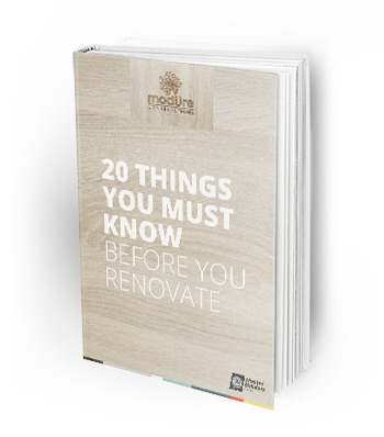 Modure Constructions Renovation Guide - 20 Things you must know before you renovate Ebook
