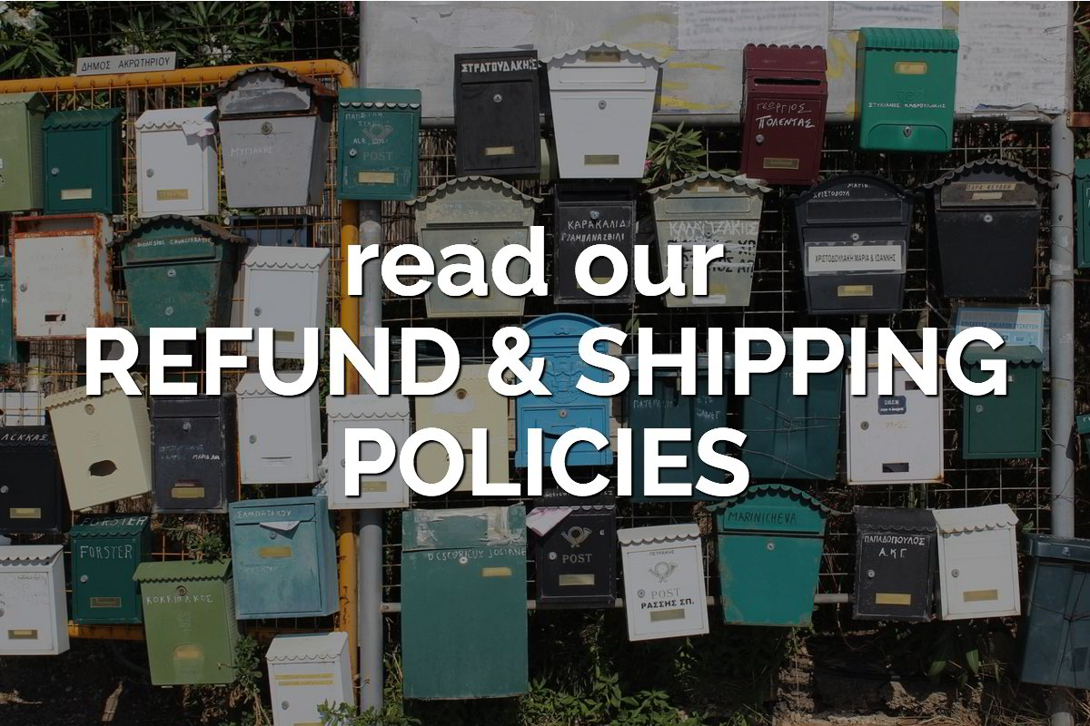refund & shipping policies