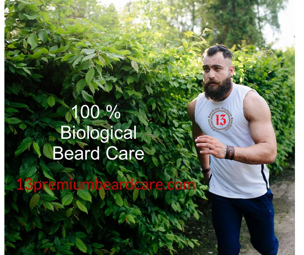 13premiumbeardcare.com 100% biological