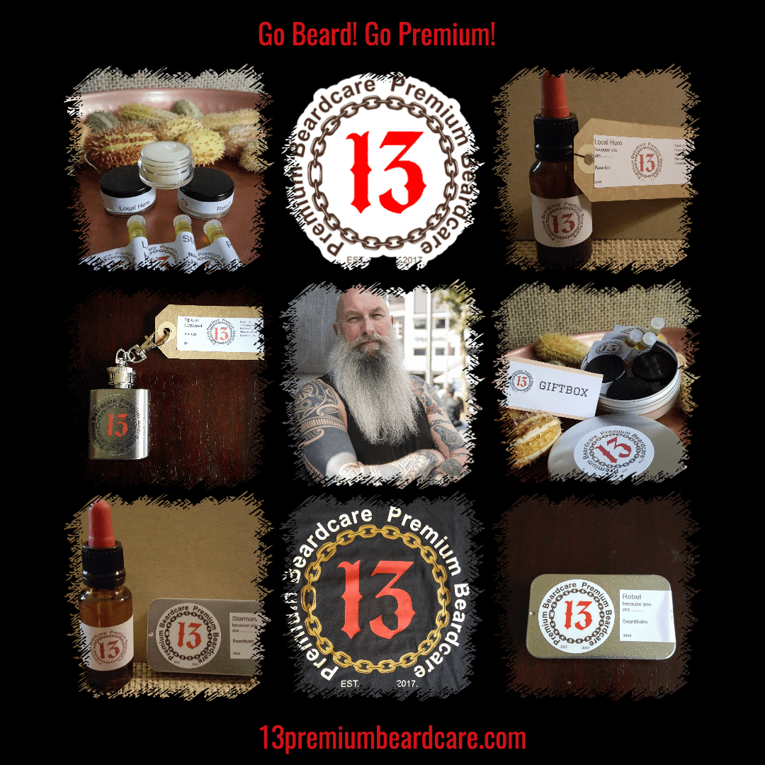 13premiumbeardcare.com our products