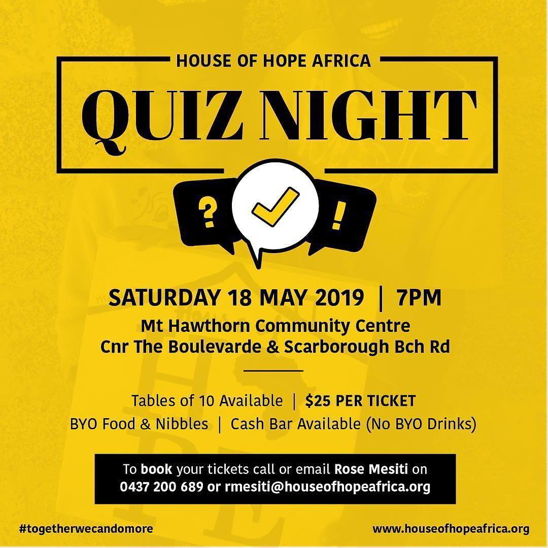 House of Hope Africa Fundraiser