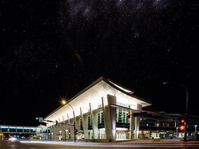 Civic Center - Night View