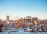 Rochester - Winter Skyline