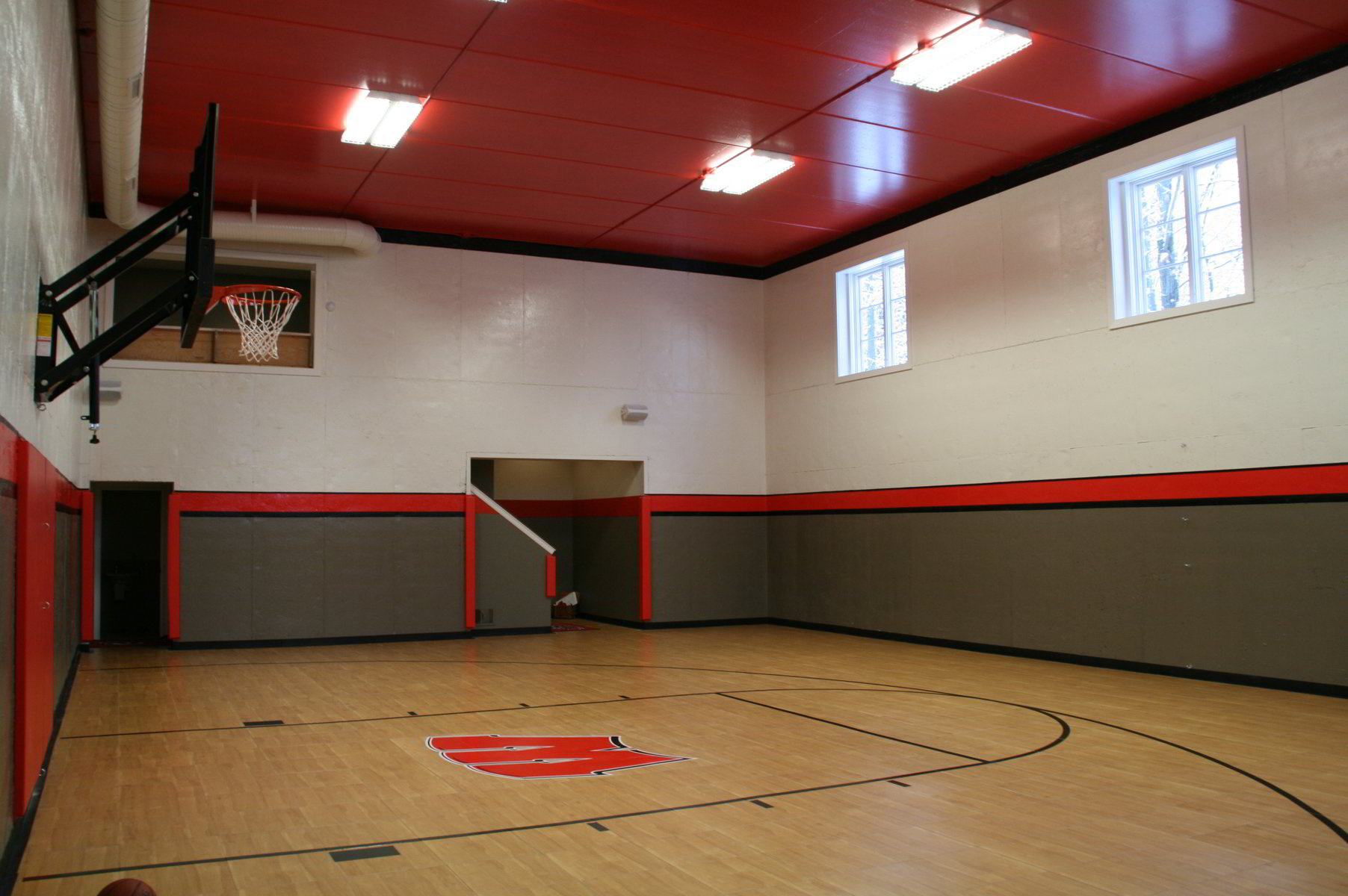 In Home Basketball Court