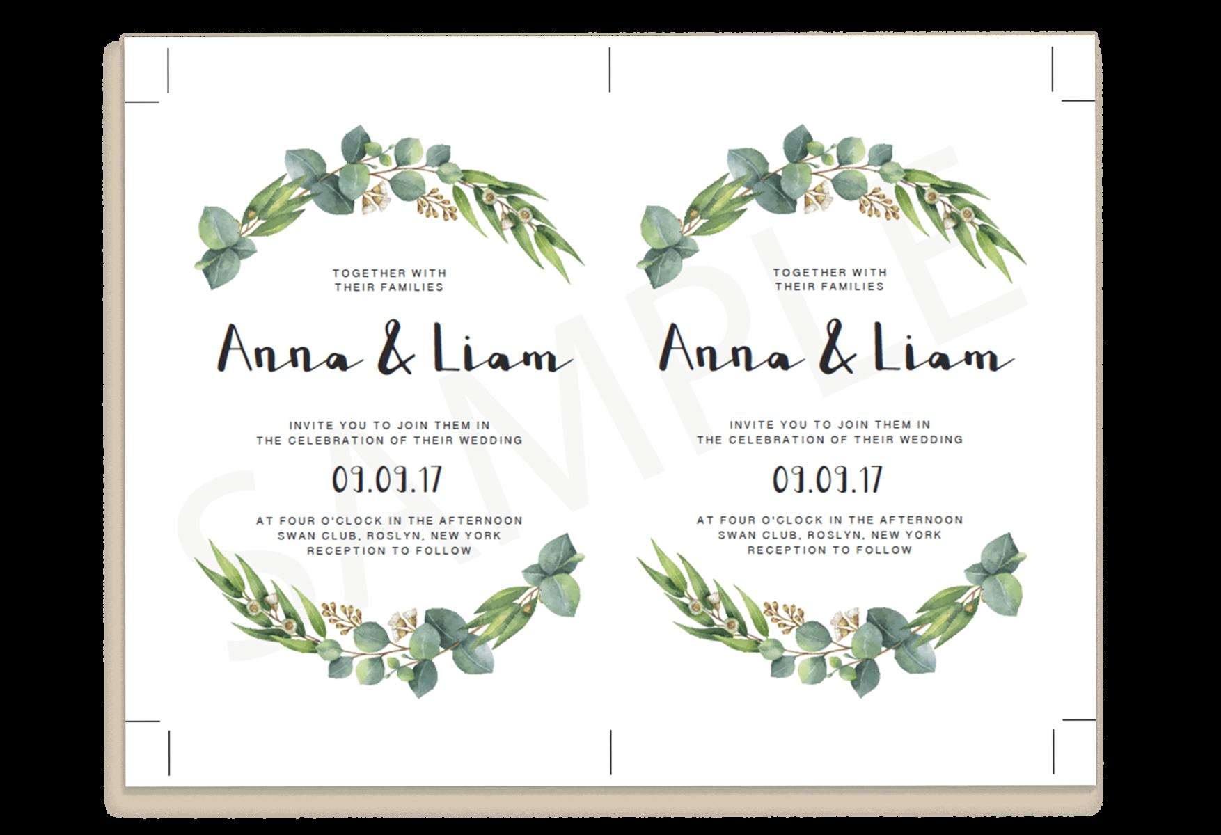 Wedding Invitation Samples Free Templates: Download A Free Sample Wedding Invitation Template