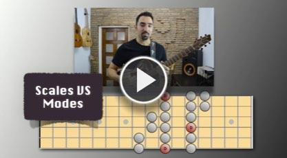 Scales VS Modes