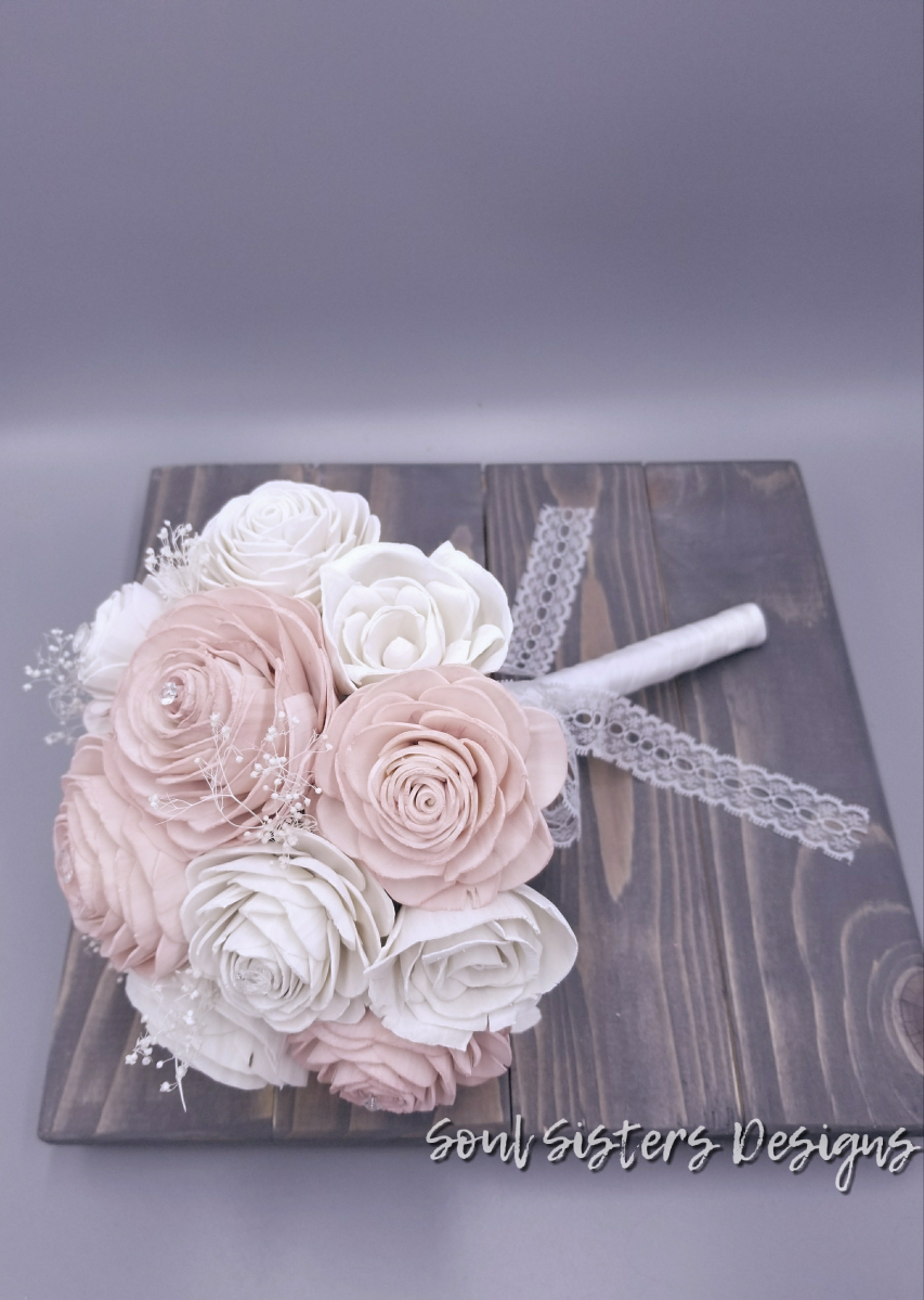 Blushing Bride Rose Bouquet
