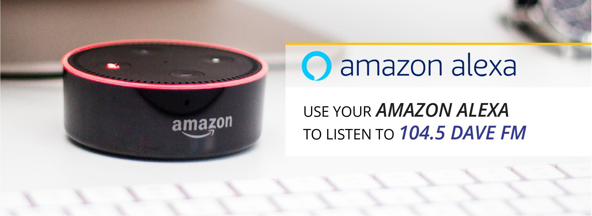 Amazon Alexa Can Play Our Station! Learn More