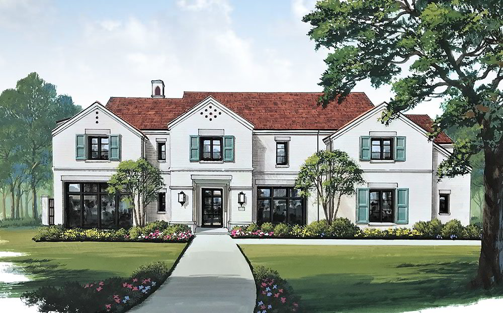 Alford Homes is building its latest residence at 6623 Lupton Drive
