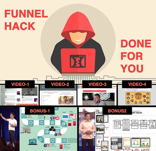 Funnel Hacking Done For You