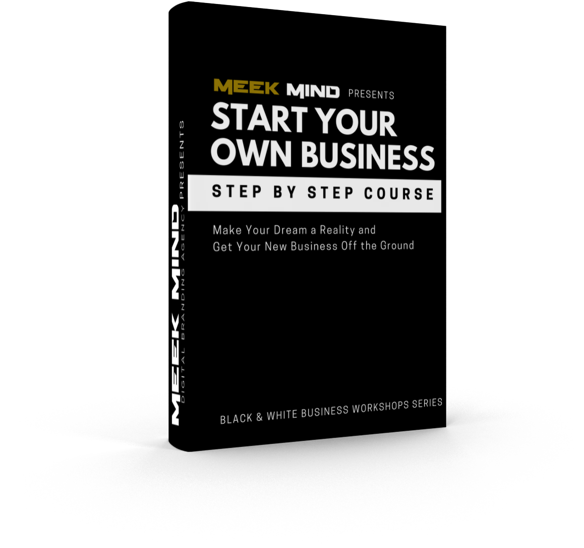 START YOUR OWN BUSINESS STEP-BY-STEP COURSE
