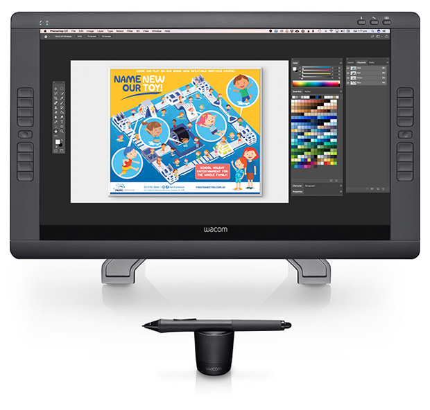 Paul Ikin Illustrator - Wacom Cintiq