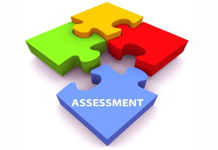Assessment puzzle graphic