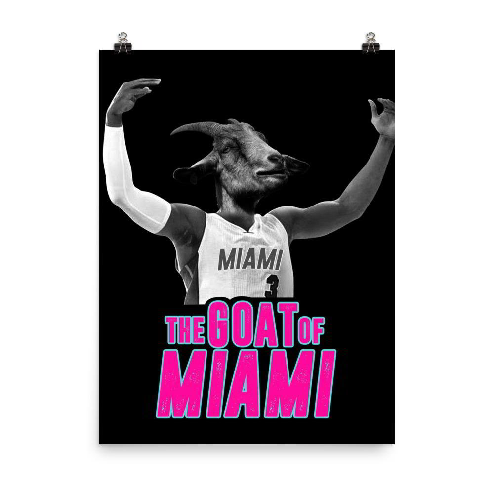 The Goat of Miami Poster