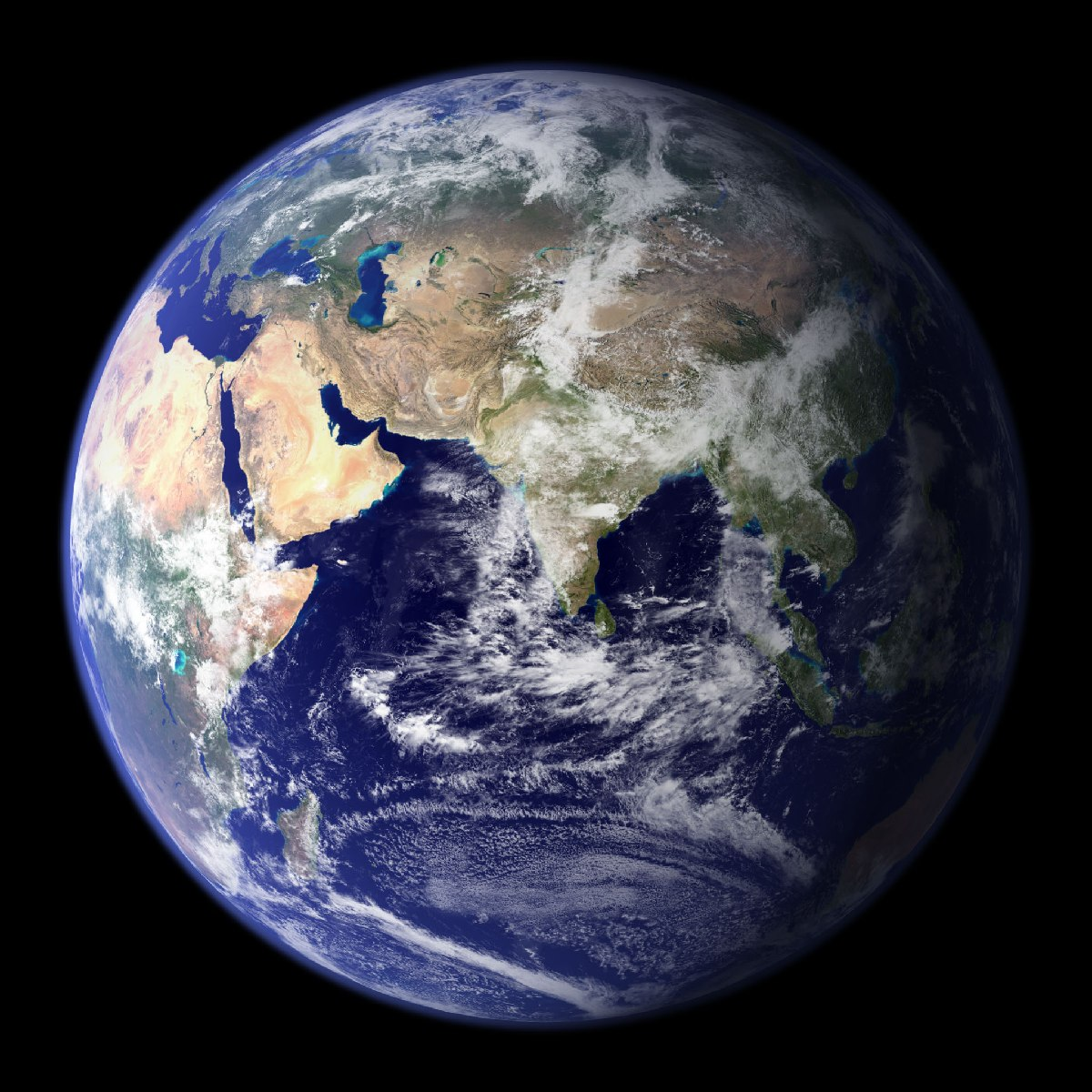 Hey B.O.B., check this out… The earth is ROUND!