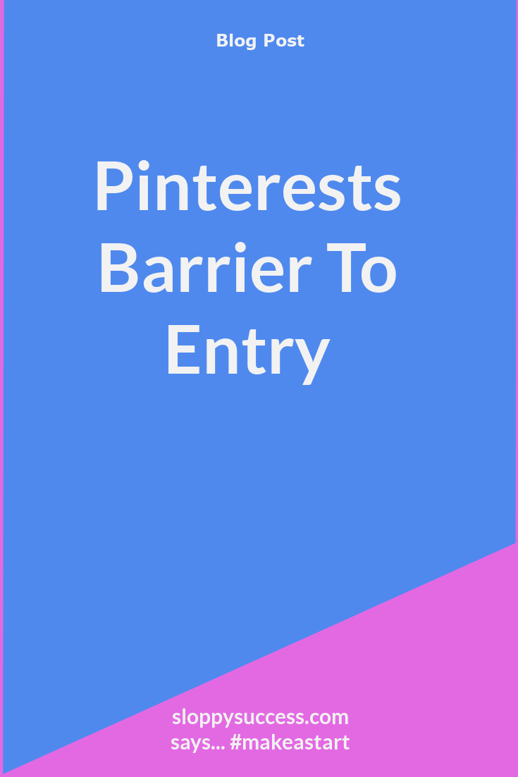 Pinterest barrier