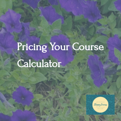 Pricing: Get A Selling Price For Your Course