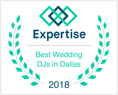 2018 Expertise Award - Best Wedding DJ in Dallas