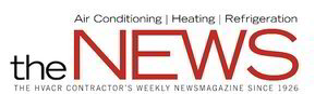 Air conditioning, heating, and refrigeration news.