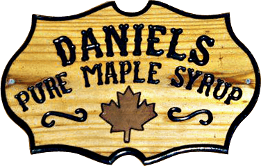 Daniels Pure Maple Syrup